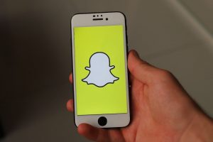 Iphone et Application Snapchat